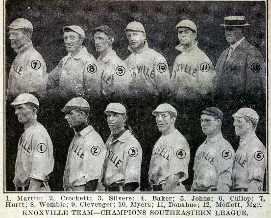 1910 Knoxville team